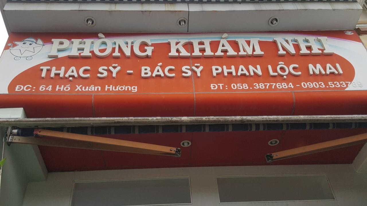 Phòng khám nhi Nha Trang - Bs. Phan Lộc Mai